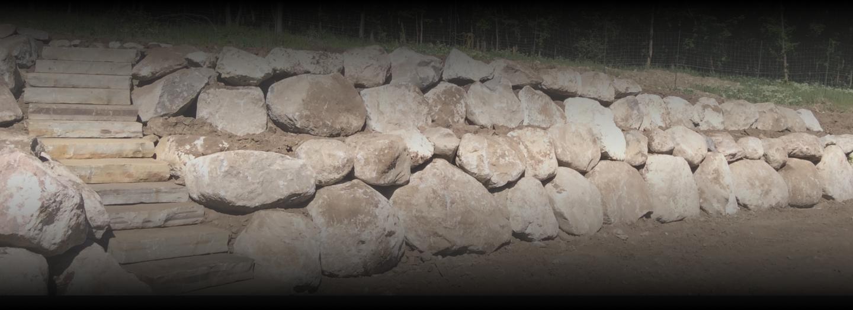 Utah rock wall